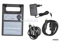 Mémoire de sauvegarde Mod.MS 3411 avec Prise OBD2 , Prise allume-cigare Batterie rech.+chargeur 12V/4,5Ah