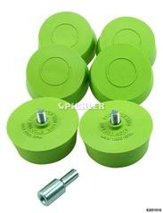 Felgen-Radierscheiben Set mit 6 Stk. inkl.Bohrfutteradapter