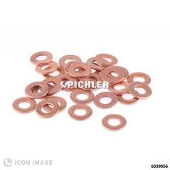 Dichtringe Übergröße 3,00mm Außendrm. 15,0 Innen 7,5 mm Verpackungseinheit 30 Stk.