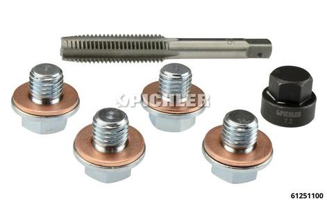 Ölablassschrauben-Gewinde Reparatursatz für M10 x 1,5 Ölablassschrauben z.B. Citroën, Ford, Peugeot