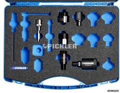 Injektor Demontage Adapter STARTER-SET von BOSCH und  DELPHI Einspritzdüsen