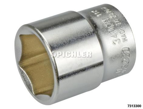 Steckschlüßelsatz 3/8 8 - 19 mm 6-kant 12-teilig auf KlemmLeiste RS3400M/12
