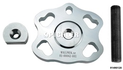 Outil de démontage pour roulements de roue compacts