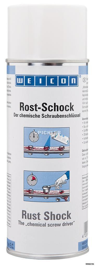 Rost-Schock Spray Löst in Sekunden Verschraubungen