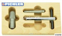 Bremssattelschlauchanschluss Satz 3-tlg. Fräser drm.18mm M 12x1,0