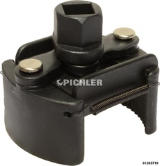Oil Filter Wrench 60-80 mm Petrol Engines, Left Facing Teeth