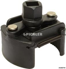 Ölfilterschlüssel UNI Benzin Gr.1 - von 60-80 mm Verzahnung linksgerichtet