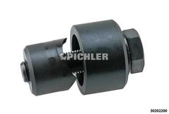 Schraublocher 22 mm