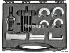 Wiper arm extractor set in a case with 7 claws