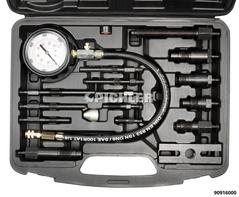 Compressiomètre Diesel, manomètre 0 à 70 bars, avec 9 adaptateurs universel