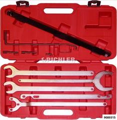 Lüfterschlüssel- und Gegen- Haltewerkzeugsatz 10-teilig Sortiment BMW und Mercedes