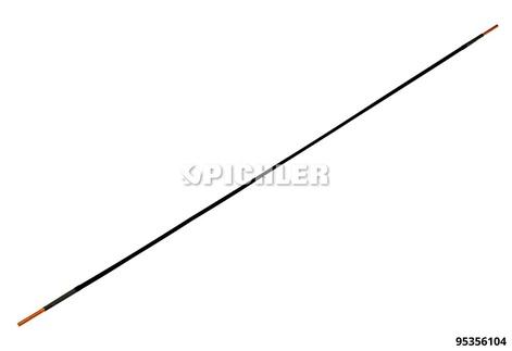 Universal Spule, Ø4mm, Länge 750mm Ausführung in schwarz