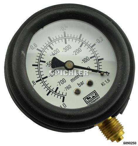 Manometer für Vakuumpumpe HV 84 passend zu Handpumpe HV84 6090500