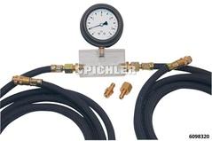Diesel-Förderdruckprüfgerät Manometer -1 bis 9 bar FP03
