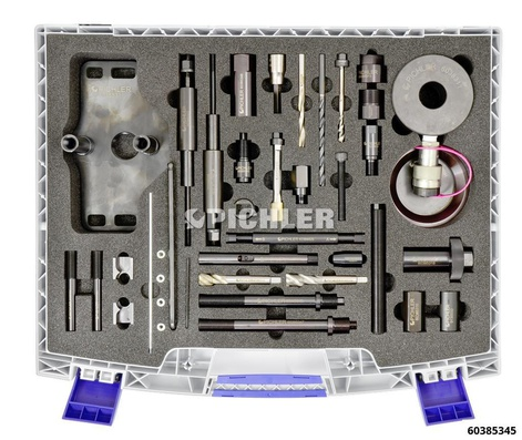 Injector Removal Set SOFIM with 20 ton hydraulic cylinder