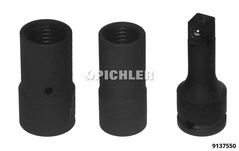 Locking Wheelnut Remover Kit 3 pcs.