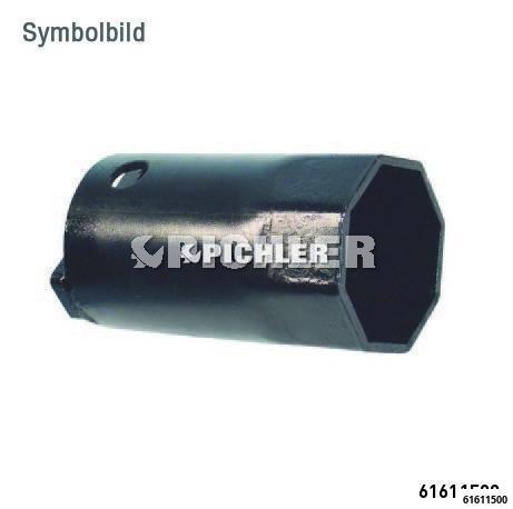 Achsmutternschlüssel 3/4 8-kant SW 115