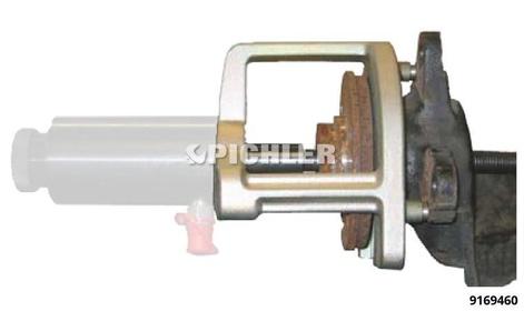 Auspressbügel U-Form zur Demontage von Antriebswellen und Radnaben WALLMEK