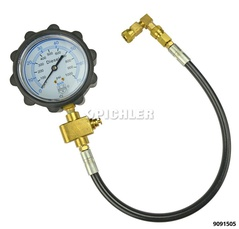 Universal Compression Test Gauge Manometer 0-70 BAR with pressure relief