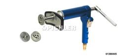 Lufthydr. Bremskolben-Drehwerkzeug mit Universal Dreheinsätzen (mit 2- und 3 Zapfen)