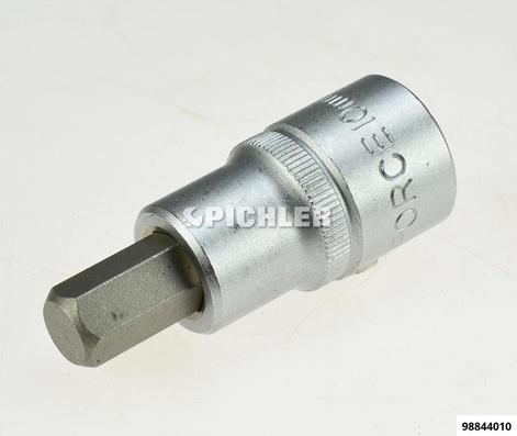 """Steckschlüssel 1/2"""" Inbus 10,0 mm Länge 55 mm"""