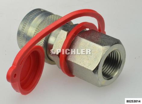 Hydraulik-Schnellkupplungsmuffe CEJN Schlauchseite 3/8 NPT Innengewinde ENERPAC Pumpe-WALLMEK Zylinder