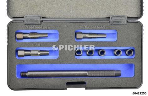 Glow Plug Thread Repair Kit M9x1 Quickset D, 10mm