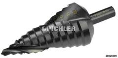 Stufenbohrer Gr. 3  6-38 mm 3 mm steigend Titan-beschichtet