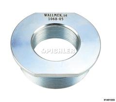 """Adaptateur pour cylindre hydraulique de WALLMEK 1 ½"""" sur G2 ½"""" - 11 (8,5 & 22 to sur 32-45 to)"""