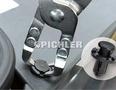 Clip-Demontagezange Set 3-tlg. Kröpfungswinkel 90°, 135° und mit Kralle