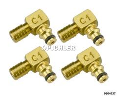 Adapter C1 Bosch 4 Stück für Rücklaufmengenmessung