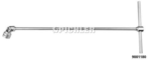 Gelenkschlüssel mit Gleitgriff  SW 18