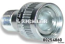 Hydraulik-Kupplung 1/4 NPT Druckzylinderseitig Anschluss Aussengewinde