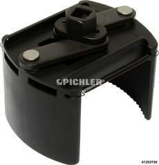Oil Filter Wrench Universal Commercial Vehicles 104-150 mm Left Facing Teeth