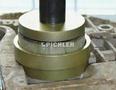 Druckstücksatz für Pendelstützenlager im Aggregateträger VAG, 3-tlg. Verwendung an der Werkstattpresse