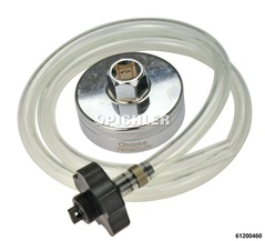 "Oil Filter Socket 24 mm, drive ½"" with Drain Hose for Toyota and Lexus 4, 6 and 8 cylinder models"