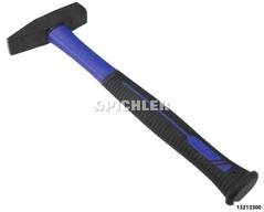 Schlosserhammer 300 g mit Fiberglasstiel