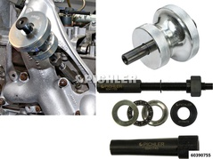 Glow Plug Extraction Kit for frozen glow plugs including extracto