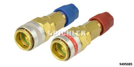 Kupplungsadapter für Klimaanlagen- Schnellkuppung Hochdruckseite R134 für BMW 5-er, Ford CMax, Volvo C30