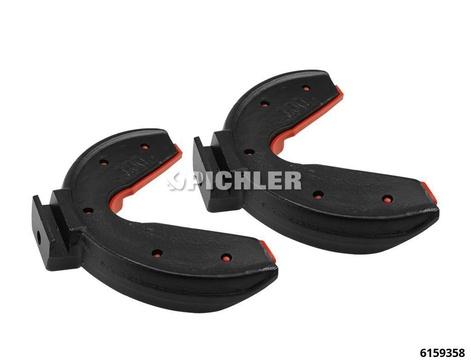 Federhalter Gr.5 145-195 mm MC-Pherson Federspanner (1 PAAR) 2,2 To kunststoffbeschichtet