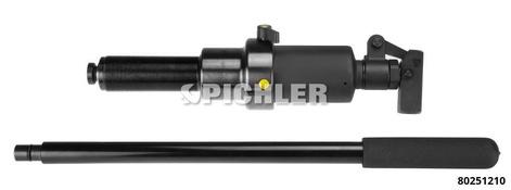 Hydraulischer Spindelzylinder 10 ton UN 1 1/2mit integrierter Hochdruckpumpe Lasthub 85 mm und Überdruckventil