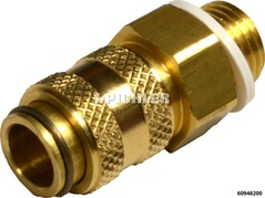 Adapter Quick Connection Coupling NW5 to External Thread R 1/4