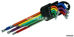 Magnetic torx®  key set extra long 9 pcs.