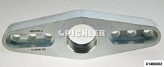 Platte mit Gewinde für Pressbügel
