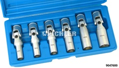 Joint socket set 6 pcs SW8,SW9,SW10,SW12,SW14,SW16