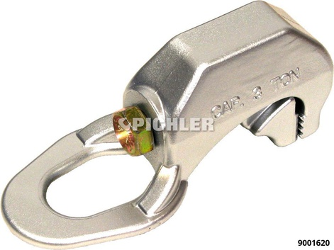 Zugklemme Engloch  für Schloßlöcher, Scheinwerfer- Aussparungen usw. 40mm/3to
