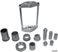 Achsschenkelbolzen-Werkzeug Kingpin 45t Variante mit Druckstücken für Nutzfahrzeuge