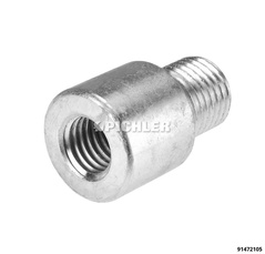 Adapter M18 / M22 for use of M18 threaded spindles in cylinders with internal thread M22