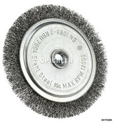 Mounted Wheel Brush, Individual Filament Type 70x4 mm