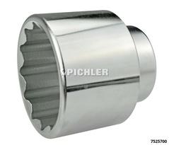 Axle nut socket 2 1/4 (57mm) - twelve-point 3/4 .. dri